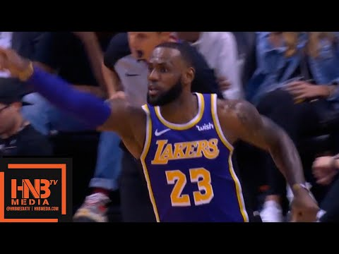 Los Angeles Lakers vs Phoenix Suns 1st Half Highlights | 10.24.2018, NBA Season