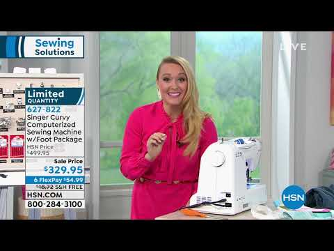 Singer Curvy Computerized Sewing Machine with Foot Packa... http://bit.ly/2Xc4EMY
