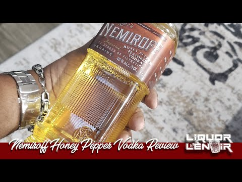 Nemiroff Honey Pepper Vodka | Liquor With Lenoir