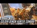 Overwatch   Golden Demon Hunter Sombra Skin Spotlight   All Cosmetics & Gameplay [BlizzCon 2018]