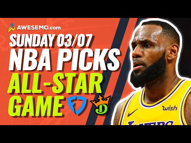 NBA DFS PICKS: ALL STAR GAME DRAFTKINGS & FANDUEL DAILY FANTASY BASKETBALL STRATEGY | SUNDAY 3/7