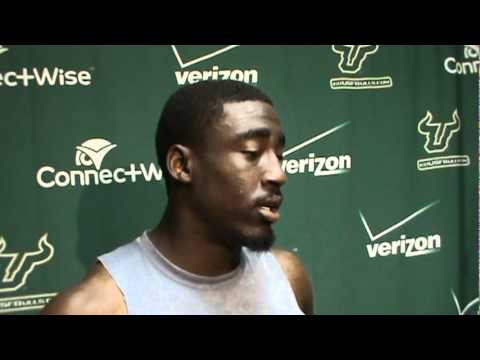 USF CB Kayvon Webster talks about the start of spring ball