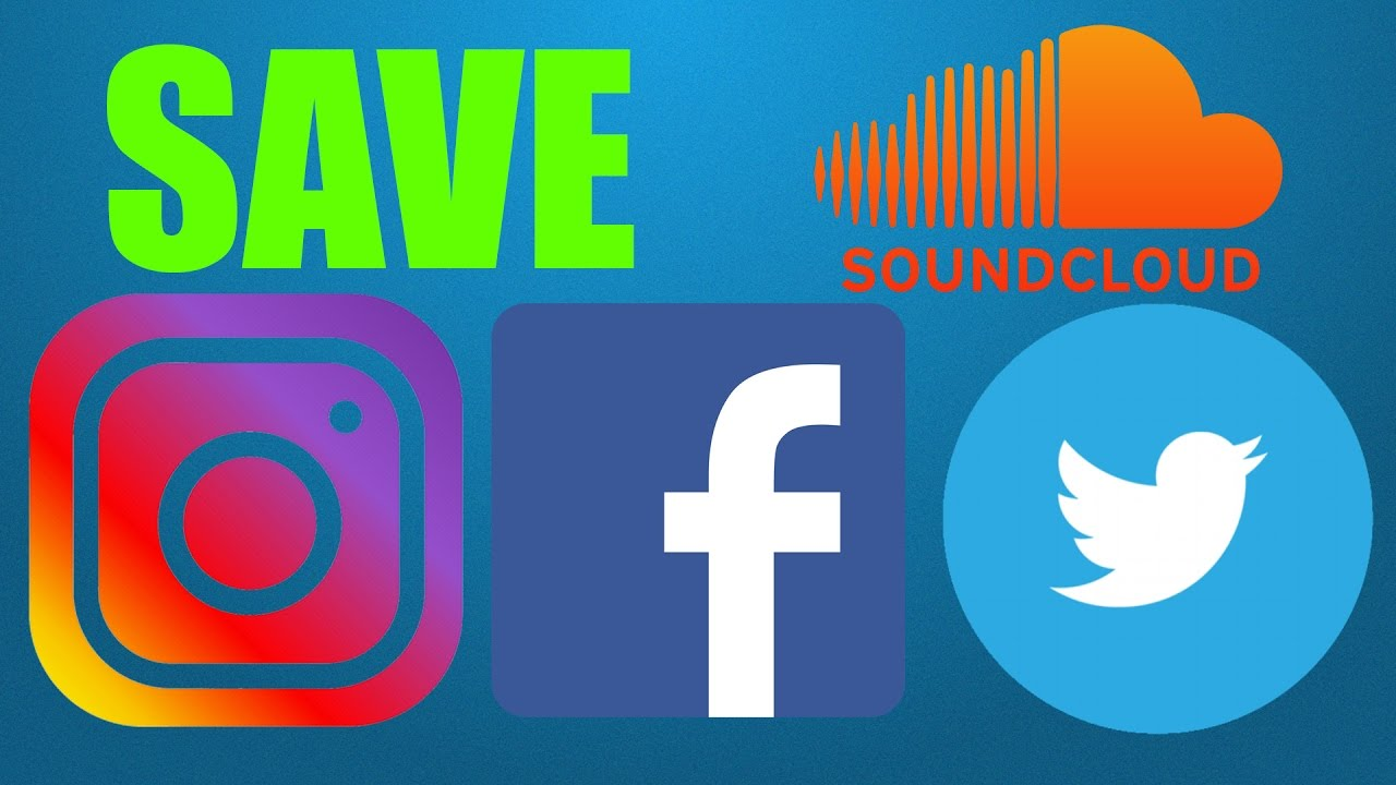 SAVE Instagram Facebook Twitter Videos and Music INSTUBE ...