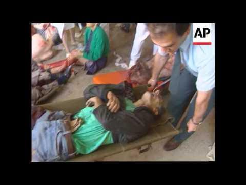 Bosnia - Many Killed In Sarajevo Shelling
