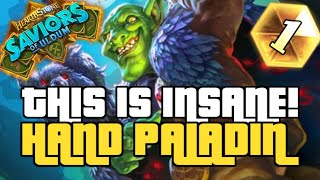 THIS BEST PALADIN DECK! | GUIDE TO HAND PALADIN | SAVIORS OF ULDUM | HEARTHSTONE