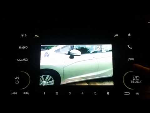 2015 Honda Fit LX How to load Wallpaper Image on 5 inch Stereo Receiver (How to Video)
