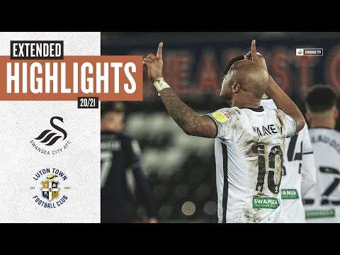 Swansea Luton Goals And Highlights