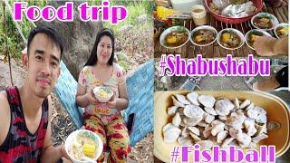 #Foodtrip #lugaw #shabushabu #fishball Family Bonding @ Mapita Farm