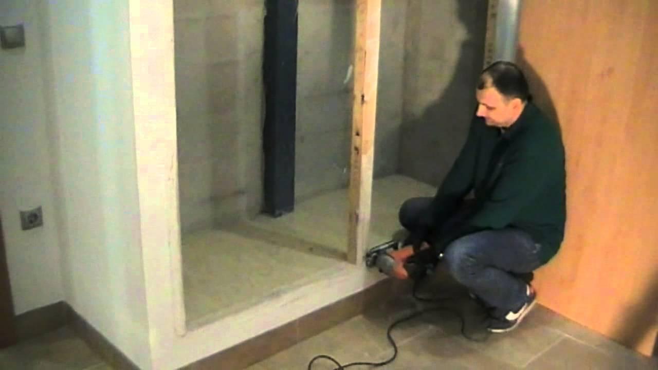Modificar marco de armario para puertas correderas youtube - Bricor armarios roperos ...