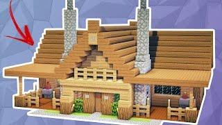 Minecraft Builder SIMPLE WOOD HOUSE MANYA