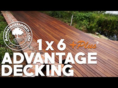 The Benefits of Advantage 1x6  Plus® Decking - Get More Out of Your Deck