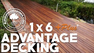 The Benefits of Advantage 1x6 +Plus® Decking - Get More Out of Your Deck