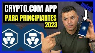 CRYPTO.COM APP TUTORIAL ESPAÑOL - PARA PRINCIPIANTES 2021
