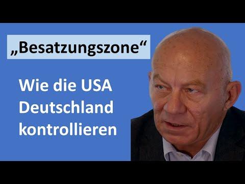 IM GESPRÄCH - USA wollen das Ufer gegenüber sichern