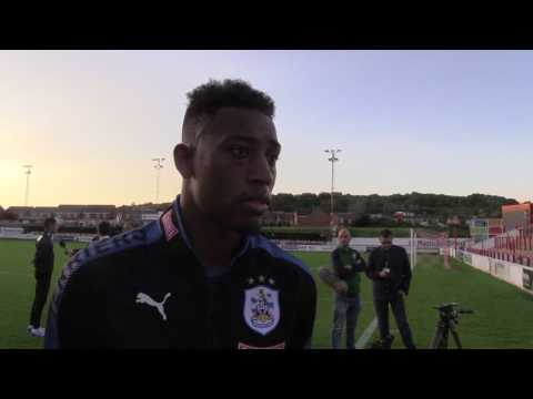 INTERVIEW: Rajiv van La Parra speaks to HTTV after Accrington Stanley friendly
