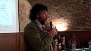Andrea Grignaffini al I° Cruasé Meeting (12 maggio, Castello di San Gaudenzio)