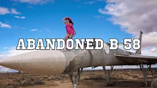 Abandoned Military Jet in the Desert