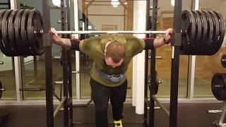 Takin shots and squats