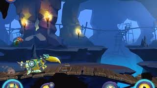 Angry Birds Transformers Part 3 Cave Giant Bat Piggy Boss