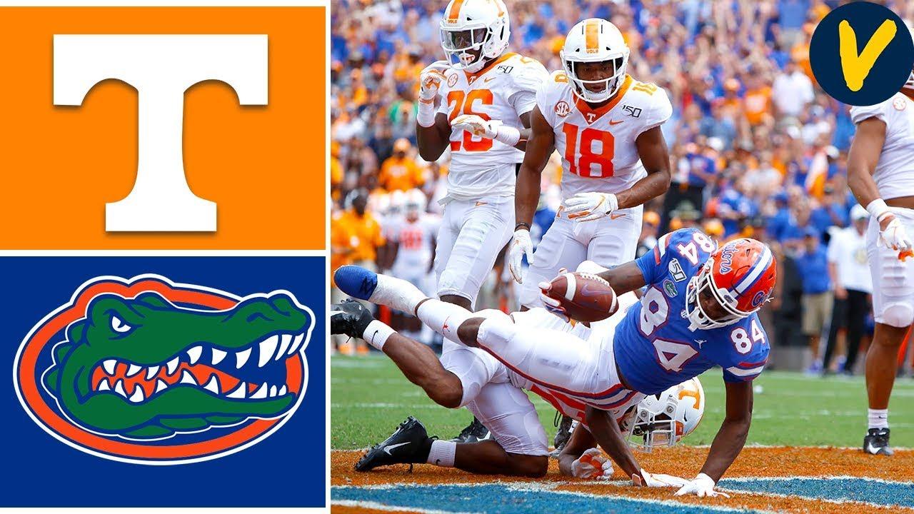 NCAAF Week 4 2019 Tennessee vs #9 Florida Gators College Football Full Game Highlights