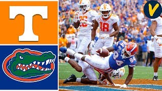 NCAAF Week 4 2019 Tennessee vs #9 Florida Gators College Football Full Game Highlights