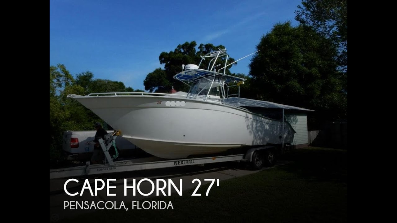 Fountain Boats For Sale >> [SOLD] Used 1996 Cape Horn 27 Center Console in Pensacola ...