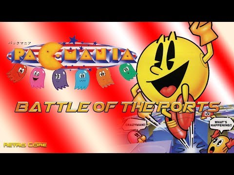 Battle of the Ports - Pac-Mania (パックマニア) Show #196 - 60fps