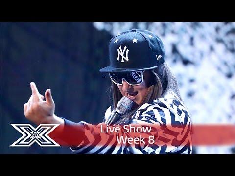 Honey G takes on Salt-N-Pepa & Rae Sremmurd  | Live Shows Week 8 | The X Factor UK 2016