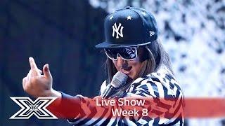 honey g takes on salt n pepa rae sremmurd   live shows week 8   the x factor uk 2016