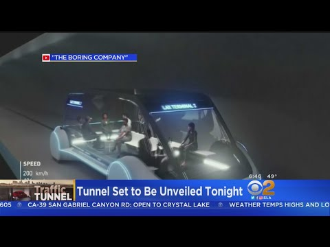 Elon Musk to Unveil Boring Co. Tunnel