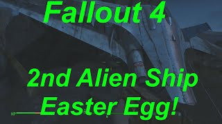 Fallout 4 Easter Eggs - Second Alien Space Ship Found! (Fallout 4 Easter Egg Location & Guide)