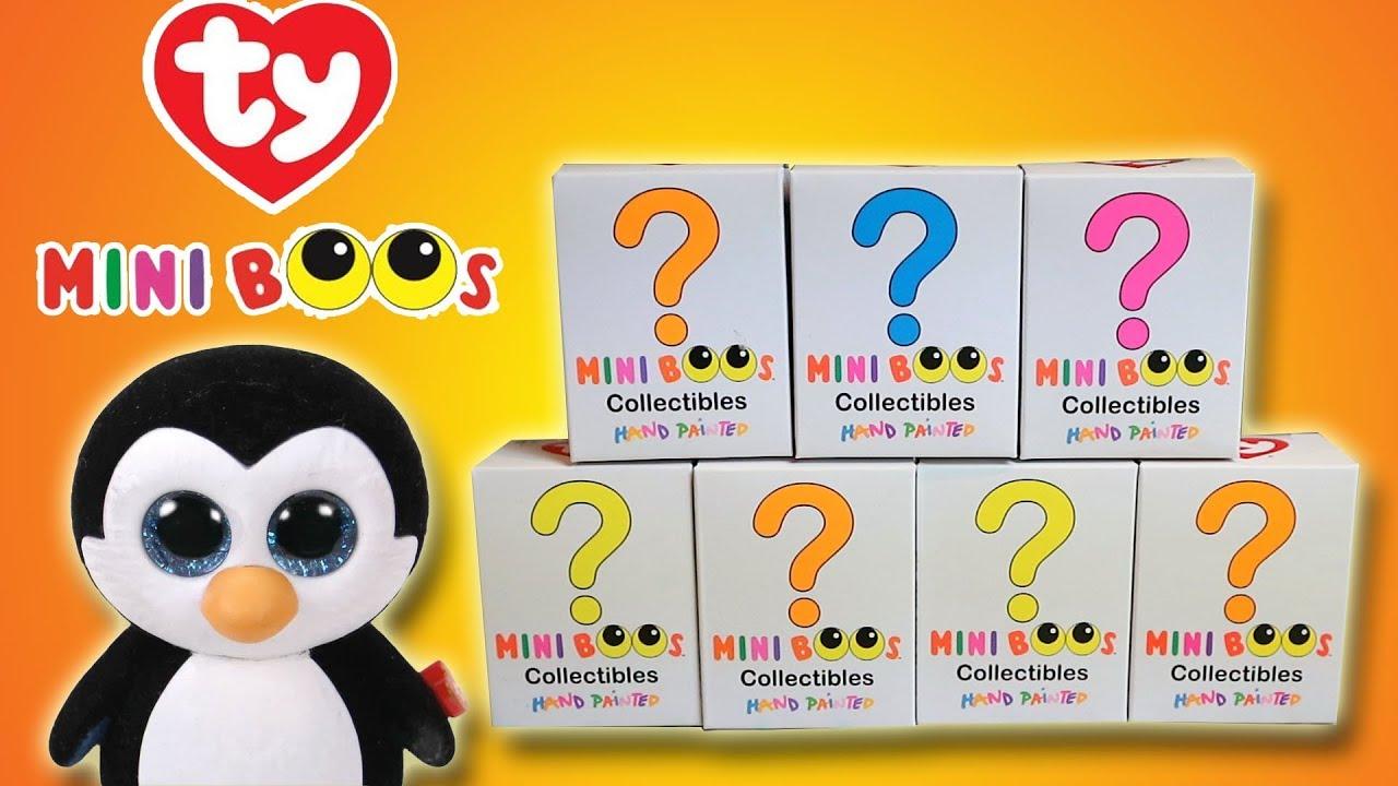 TY MINI BOOS COLLECTIBLES - BEANIE BOOS BLIND BOXES  283fdfc543e8