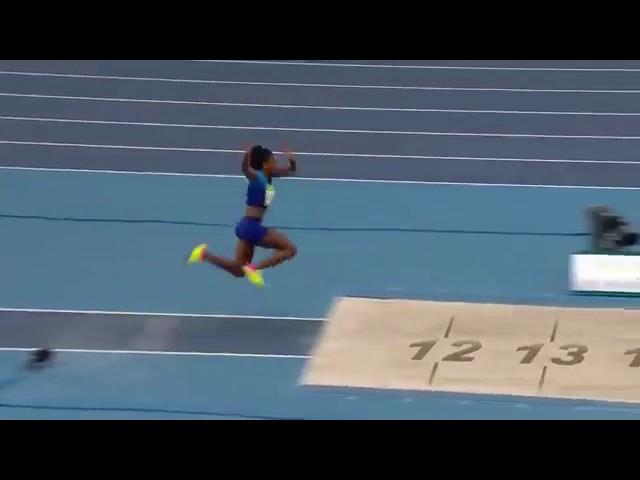 Keturah Orji 14.71 Triple Jump women's NR