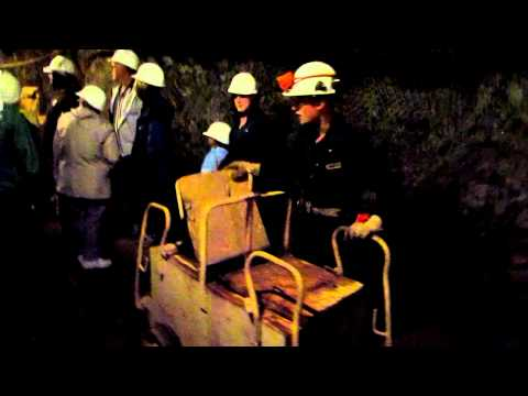 The Healers Do The Britannia Mine Tour.  Oct 2 2011