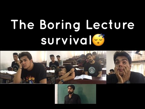 The Boring lecture Survival