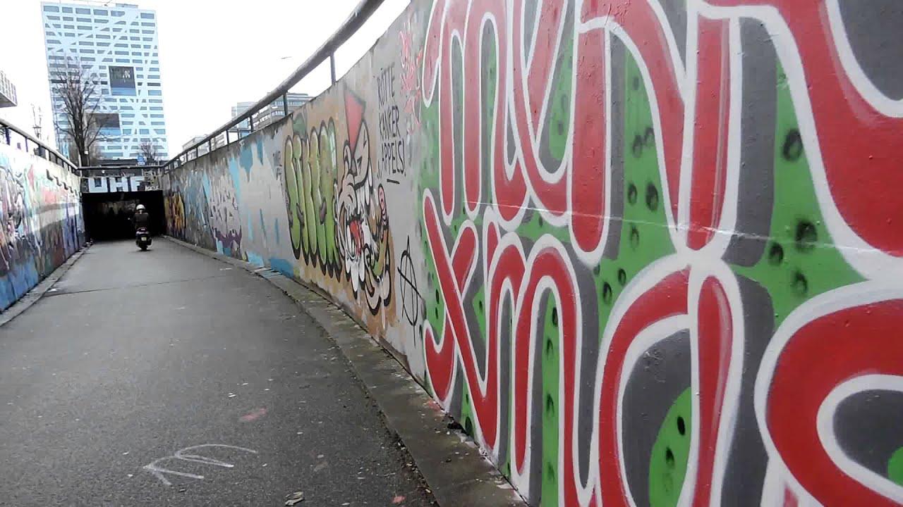 Graffiti wall utrecht - Graffiti Tunnel Te Utrecht 4 1 2015