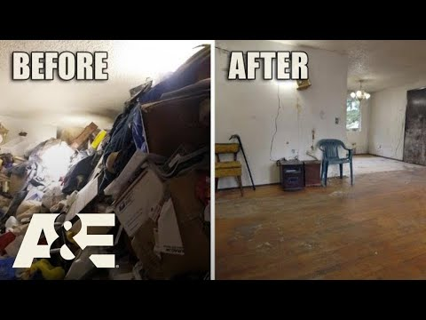 Hoarders: Before & After: 160 TONS of Trash Removed (Season 10)   A&E