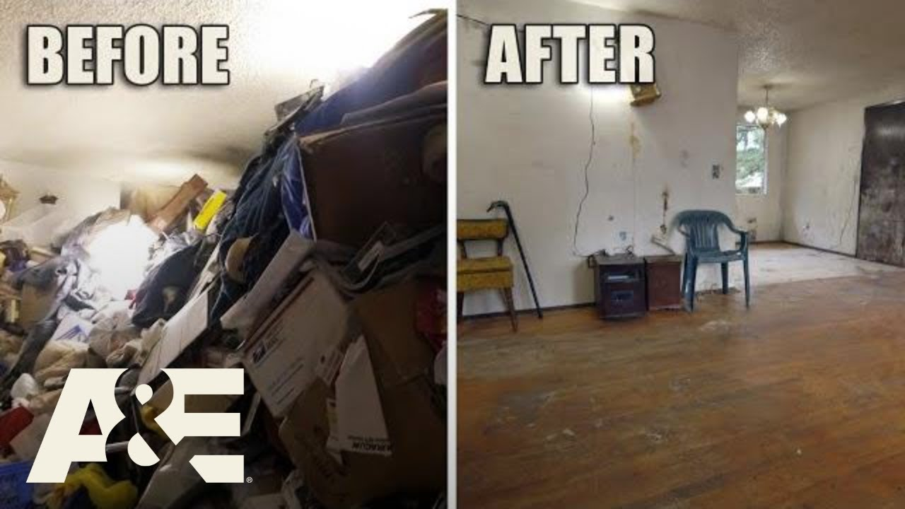 Hoarders: Before & After: 160 TONS of Trash Removed (Season 10) | A&E