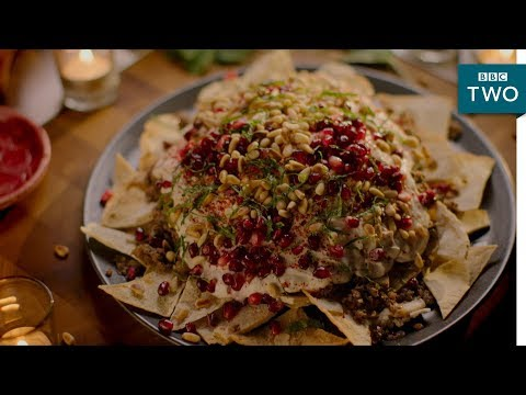 Beef and Aubergine Fatteh  Nigella: At My Table  Episode 2  BBC Two