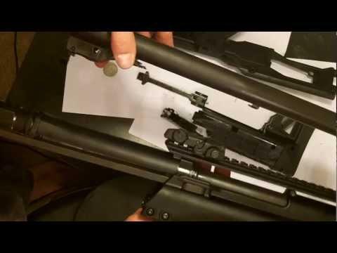 How To: Field Strip Keltec KSG [HD]
