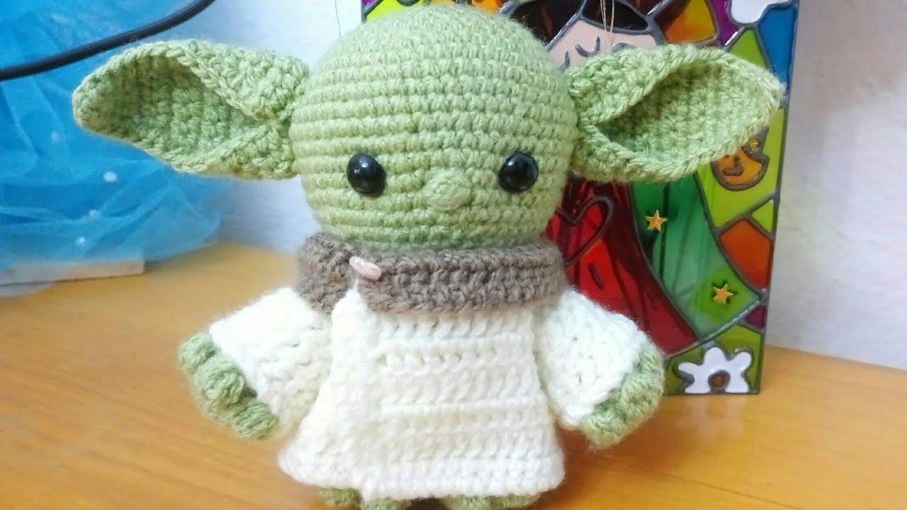 Mestre Yoda Amigurumi   720x1280