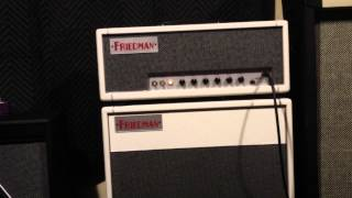 Friedman Dirty Shirley amp w/ Tube Screamer Gibson Les Paul