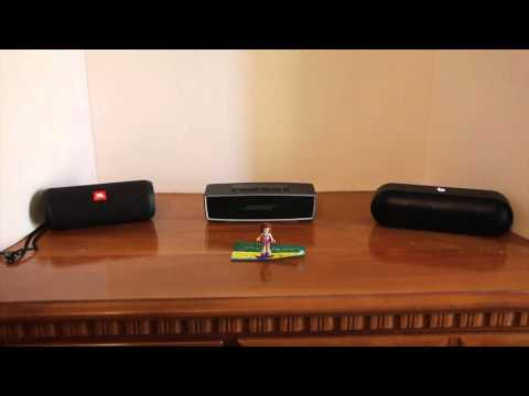 JBL Flip 3 Vs Bose Soundlink Mini Ii Vs Beats Pill+