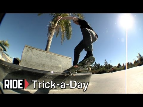 How-To Skateboarding: Frontside Tailslide With Sean Conover