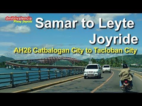 Pinoy Joyride - AH26 Catbalogan to Tacloban City / Samar to Leyte Joyride