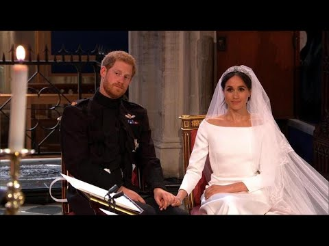 Not your grandfather's royal wedding
