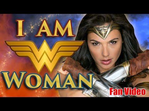 I AM Wonder WOMAN!  Jordin Sparks & Wonder Woman MashUp