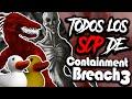 TODOS LOS SCP QUE SALEN EN SCP CONTAINMENT BREACH #3