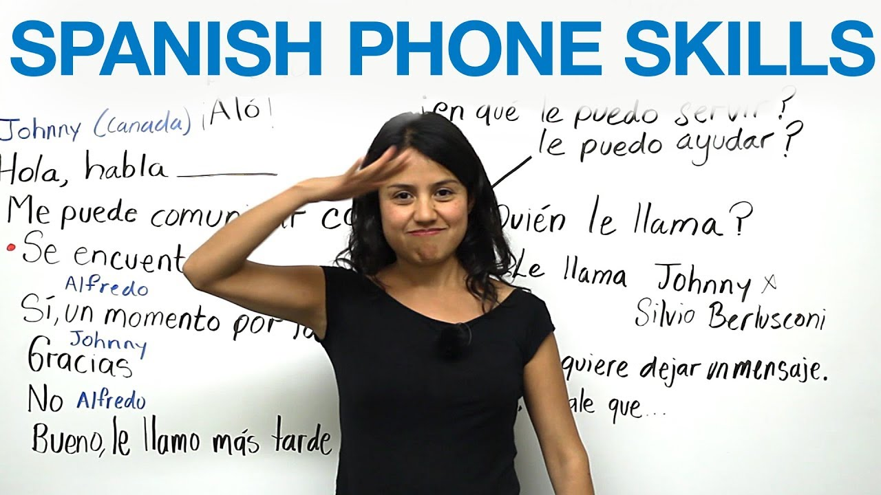 Phone conversations in spanish youtube phone conversations in spanish m4hsunfo