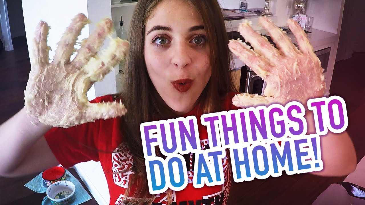 Fun Things To Do At Home Baby Ariel Youtube